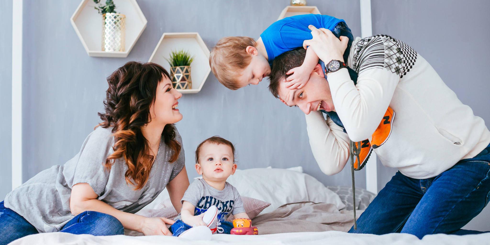 Giochi fra genitori e figli